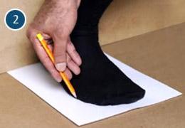 Taglia scarpe 2